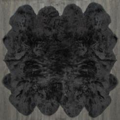 Slate Grey Octo Sheepskin Rug