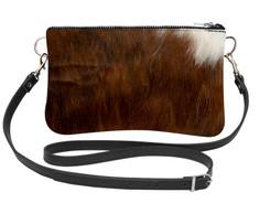 Cowhide Shoulder Bag DRB243 (15cm x 23cm)