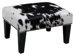 2ft x 1.5ft Cowhide Footstool / Ottoman FST773