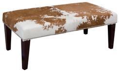 4ft x 2ft Cowhide Footstool / Ottoman FST775