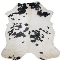 white with black spots