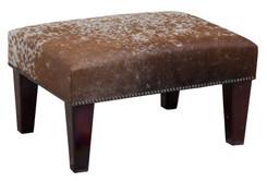2ft x 1.5ft Cowhide Footstool / Ottoman FST005-21