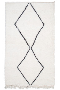 Moroccan Berber Rug BER224-S-21 (130cm x 75cm)