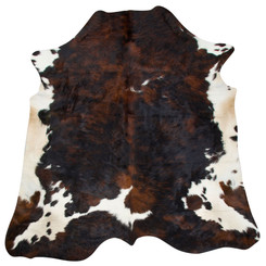 Cowhide Rug MAY165-21 (210cm x 205cm)
