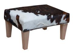 2ft x 1.5ft Cowhide Footstool / Ottoman FST030-21