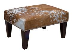 2ft x 1.5ft Cowhide Footstool / Ottoman FST031-21