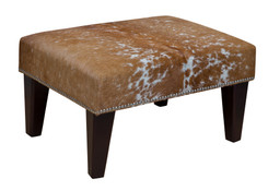 2ft x 1.5ft Cowhide Footstool / Ottoman FST032-21