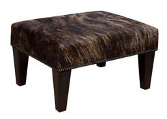 2ft x 1.5ft Cowhide Footstool / Ottoman FST034-21