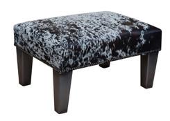 2ft x 1.5ft Cowhide Footstool / Ottoman FST039-21