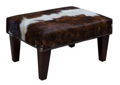 2ft x 1.5ft Cowhide Footstool / Ottoman FST040-21
