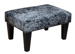2ft x 1.5ft Cowhide Footstool / Ottoman FST041-21