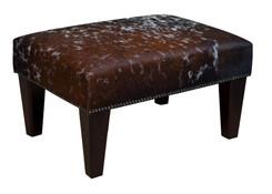 2ft x 1.5ft Cowhide Footstool / Ottoman FST043-21