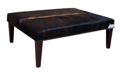 4ft x 3ft Cowhide Footstool / Ottoman FST044-21