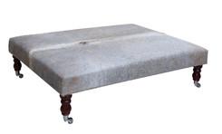 4ft x 3ft Cowhide Footstool / Ottoman FST045-21