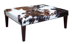 4ft x 3ft Cowhide Footstool / Ottoman FST046-21