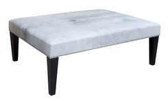 4ft x 3ft Cowhide Footstool / Ottoman FST047-21