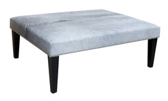 4ft x 3ft Cowhide Footstool / Ottoman FST050-21
