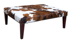 4ft x 3ft Cowhide Footstool / Ottoman FST051-21