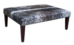 4ft x 3ft Cowhide Footstool / Ottoman FST052-21