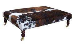4ft x 3ft Cowhide Footstool / Ottoman FST054-21