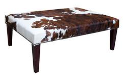 4ft x 3ft Cowhide Footstool / Ottoman FST057-21