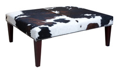 4ft x 3ft Cowhide Footstool / Ottoman FST058-21