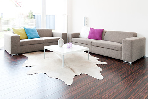 Genuine Cowhide Rugs Add Warmth and Beauty to Any Home