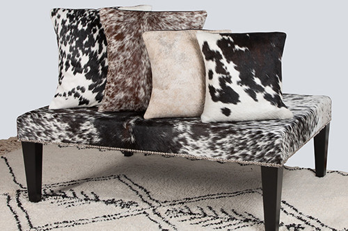Enhance Your Home with Practical and Decorative Cowhide Cushions
