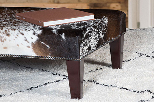Enhance any Room With Genuine Cowhide Furniture