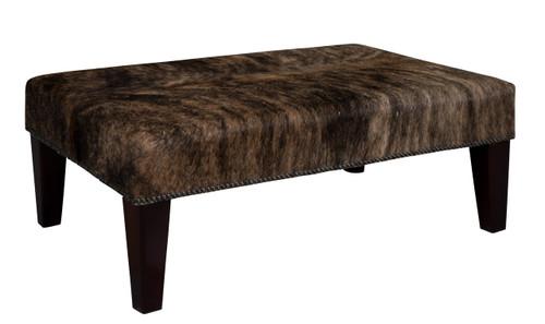 3ft x 2ft Cowhide Footstool FST923