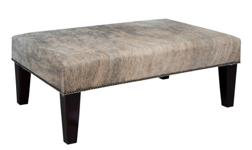 3ft x 2ft Cowhide Footstool FST932