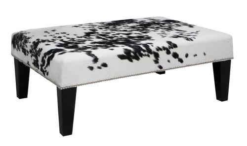 3ft x 2ft Cowhide Footstool FST934