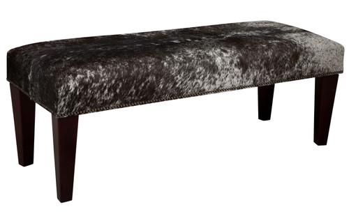 4ft x 1.5ft Cowhide Footstool / Ottoman FST611