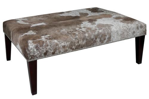 4ft x 3ft Cowhide Footstool / Ottoman FST100