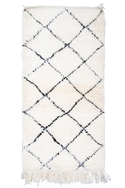 Moroccan Berber Rug BER087-S-21 (150cm x 70cm)