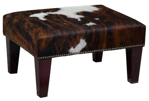 2ft x 1.5ft Cowhide Footstool / Ottoman FST015-21
