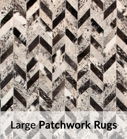 Large Patchwork Rugs