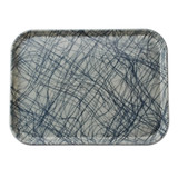 Fiberglass Tray in Grey Swirl Pattern (various sizes)