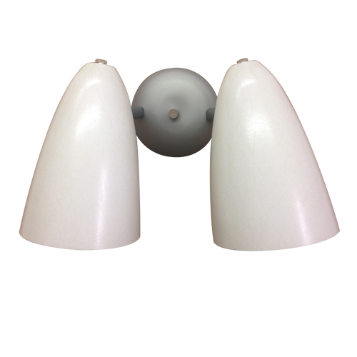 Retro Bullet Light Double Sconce