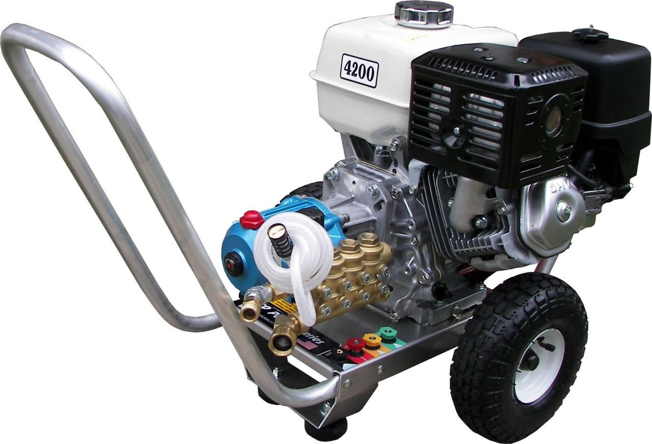 Pressure Pro E4042HCI 4 GPM 4200 PSI Gas Pressure Washer Honda, CAT