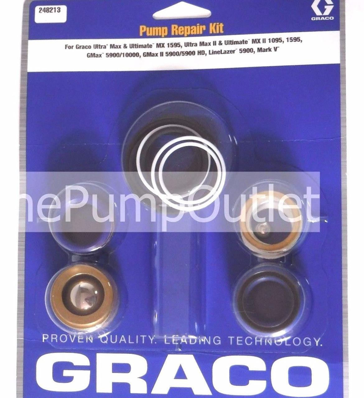 Graco 287877 Piston Valve Kit OEM Made in USA* 287-877