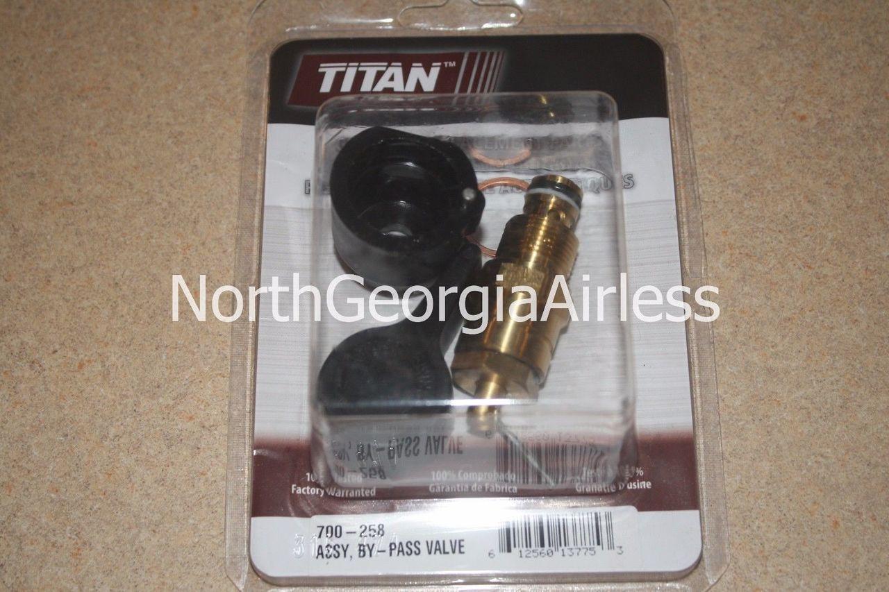 Genuine Titan Titan 700258 Bypass Valve Assembly 700-258