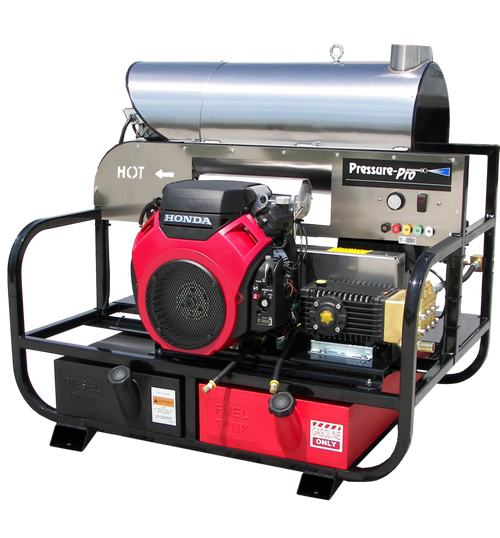 Pressure Pro 8012PRO-35HG 8 GPM 3500 PSI Hot Water Pressure Washer. Honda GX690 General Pump