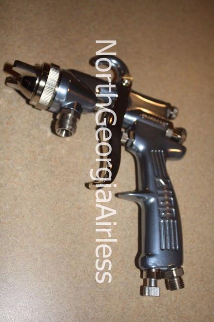 Binks 2100 Spray Gun 2101-2800-7 with 63BSS-63PB(P) Fluid Nozzle 45-6321 63BSS