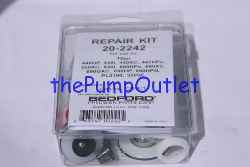 Aftermarket Titan Pump Repair Kit 730-401 730401 440HP 440XC 440i