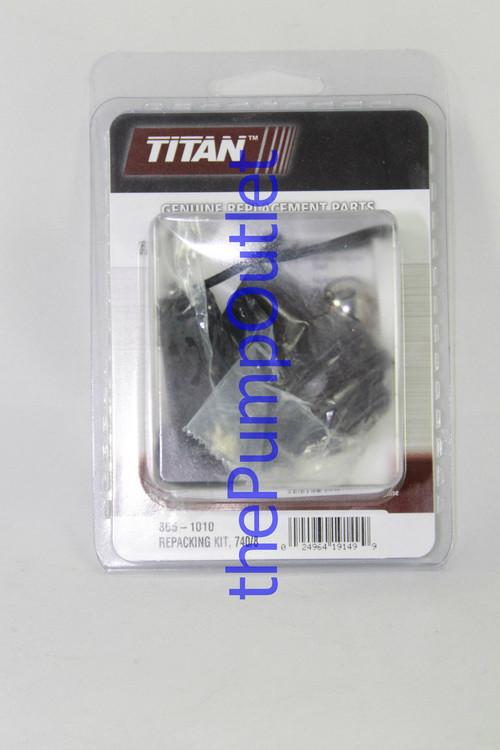 Titan Impact Sprayer 740 840 Packing Kit 805-1010 Pump Repair Kit