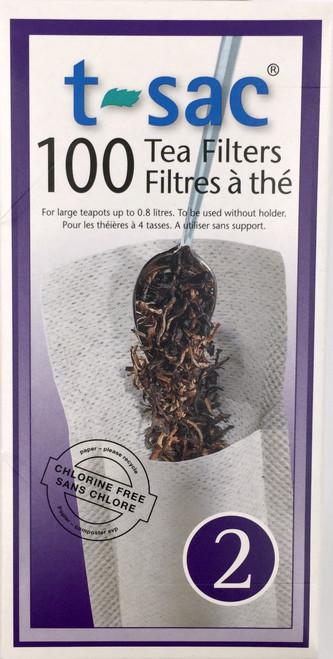 100 TEA FILTERS