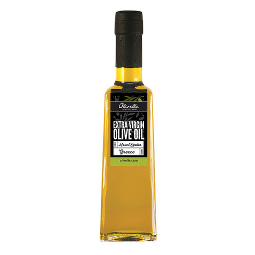 This mono-varietal premium oil is harvested from Koroneiki olives in the mountain village of Christianous in Greece.. Due to the cooler climate in the village, these olives are hand-harvested in early November, lending itself to a greener, more robust flavor with a bold peppery finish.
