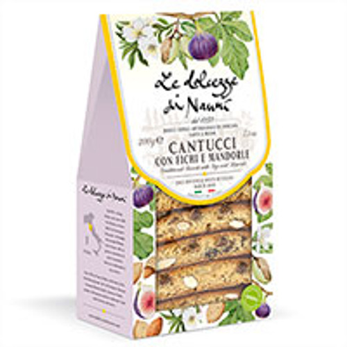 Almonds and Figs Cantucci in Gift Box by Nanni: Tuscany