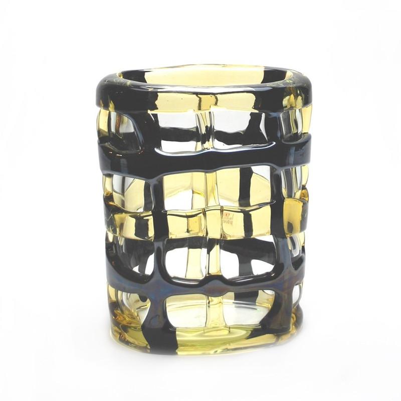 Murano Glass Quadrato Colore Vase